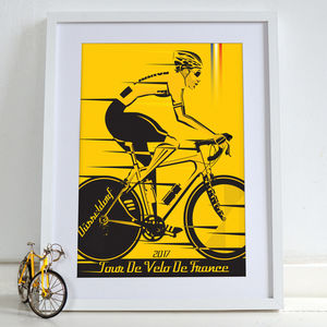 Grand Depart Düsseldorf Tour De France 2017 Bicycle - posters & prints