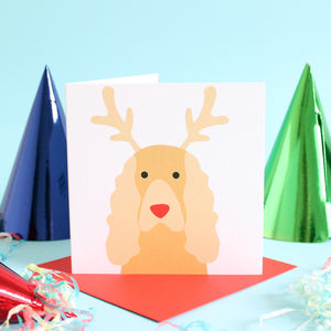 Christmas Cocker Spaniel Card - cards & wrap