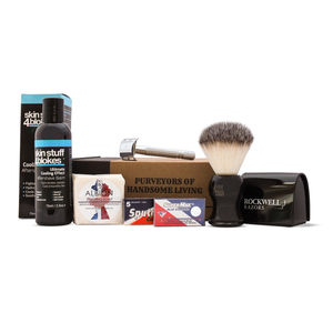 Premium Men's Shaving Kit - shaving
