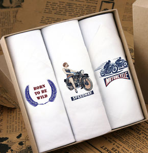 Men's Handkerchiefs Motorbikes
