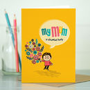 Mum Card 'Flowers For Mum'