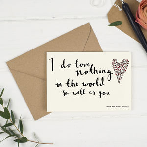 Love Quote Cards - shop by occasion
