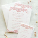 Lace Wedding Invitation Collection