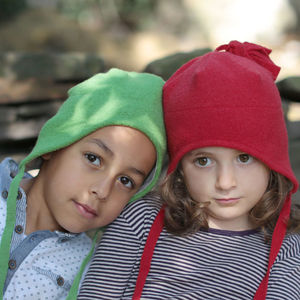 Organic Boiled Merino Wool Baby / Children's Hat - children's hats