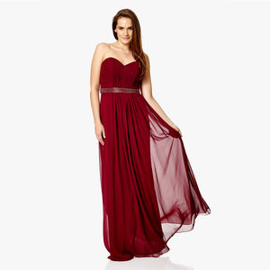 Strapless Matilda Long Dress - bridesmaid dresses