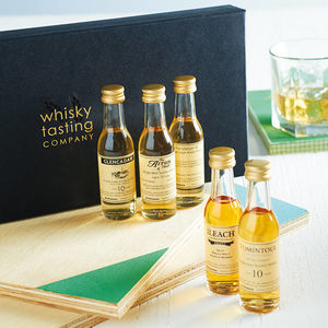 Single Malt Whisky Gift Set - best father's day gifts