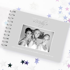 Personalised Bridesmaid Book - albums & guest books