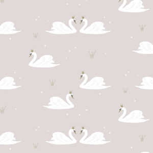 Swans Wallpaper - home decorating
