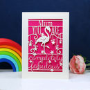 Completely Fabulous Papercut Card
