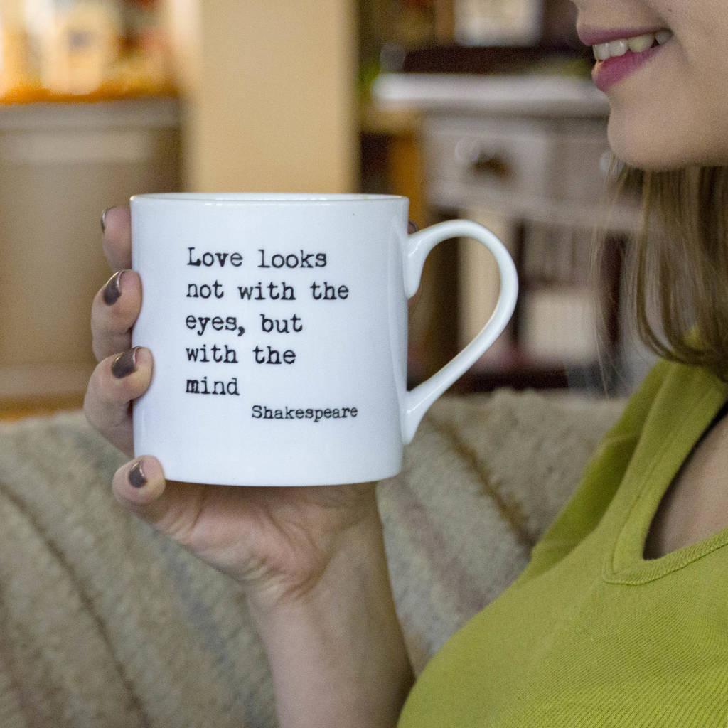 7cdfd9ae632 Personalised Inspirational Quote Bone China Mug