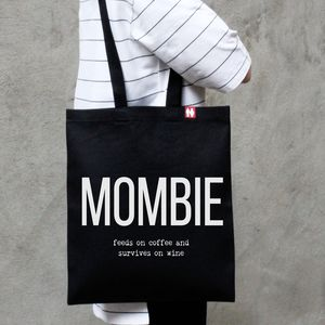 Personalised 'Mombie' Tote Bag - personalised