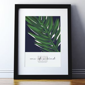 Abstract Leaf Mother's Day Print - gifts for mothers