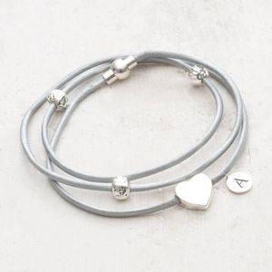 Kalea Personalised Heart Bracelet - valentine's gifts for her