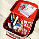 Child's Wooden Vet Kit