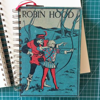 'Robin Hood' Upcycled Notebook