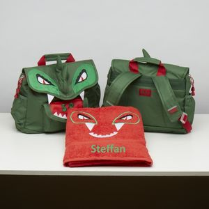 Dinosaur Swim Bag And Matching Towel - bed, bath & table linen