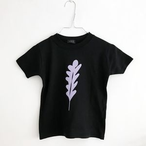 Purple Leaf Baby T Shirt - baby & child