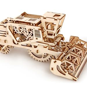 Mechanical Harvester Wooden Self Assembly Kit Ugears