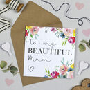 Manhattan 'Beautiful Mum' Card
