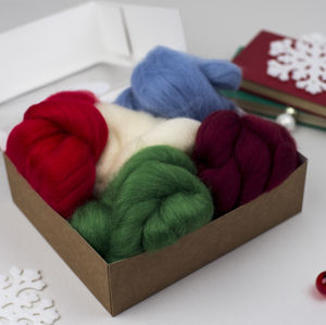 Christmas Wool Creativity Bundle