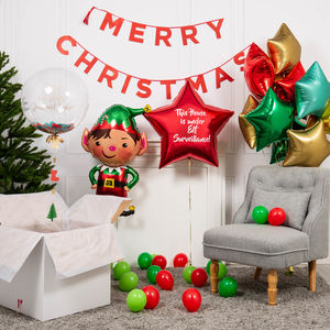 Inflated Christmas Elf Party Package