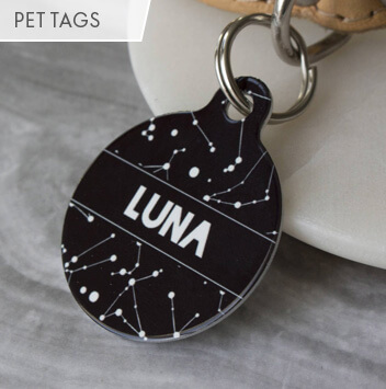 shop pet tags