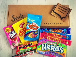 Personalised Retro Letterbox Sweet Box - chocolates & confectionery