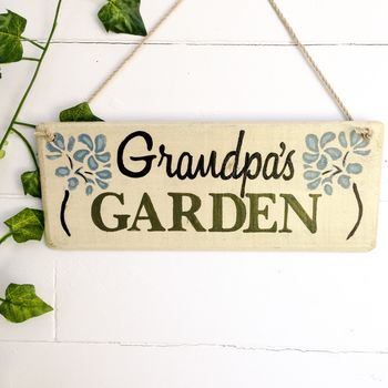 Personalised Letterbox Friendly Garden Sign