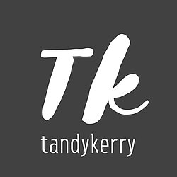 "Image of Tandykerry Logo - Monogram of Tandykerry ""TK"""