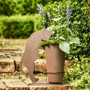 Animal Silhouette Garden Pot