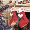 Personalised Quilted Christmas Stocking