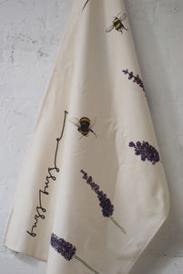 Bee Cotton Tea Towel