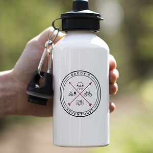 'Daddy's Adventures' Water Bottle - what's new