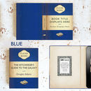 Custom Blue Kindle Cover with Penguin Hardback Book Theme