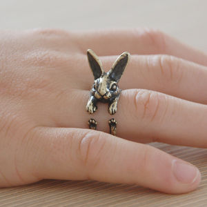 Hare Ring - children's jewellery
