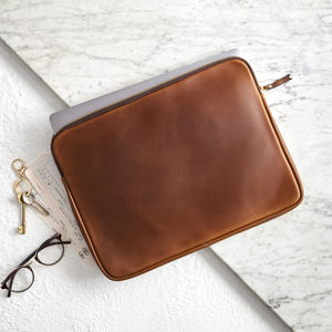 Leather Laptop Cover / Document Holder