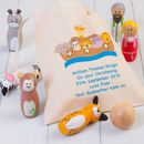 Childrens Noahs Ark Skittles And Personalised Bag