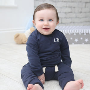 Personalised Navy Tracksuit