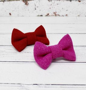 Harris Tweed Doggy Bow Tie - dogs
