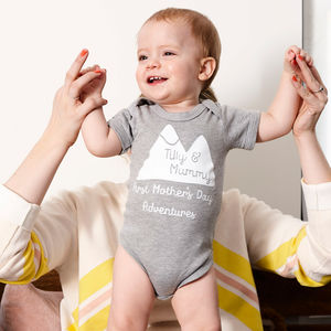 First Mother's Day Babygrow - first mother's day gifts