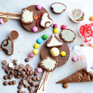 Christmas Chocolate Lolly Activity Set