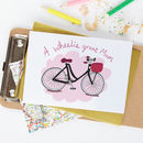 'A Wheelie Great Mum' Mother's Day Or Birthday Card