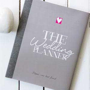 Personalised Wedding Planner - engagement gifts