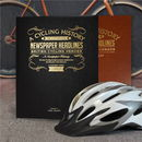 Personalised British Cycling Heroes History Book