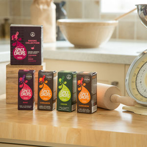 Spice Drops® Baking Collection With Recipe Booklet - sauces & seasonings