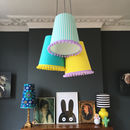 Pom Pom Cluster Chandelier Choose Your Own Combo