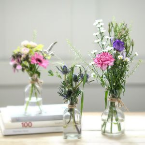 Boutique Posy Flower Bottles - flowers & plants