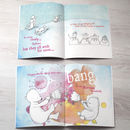 colourful fun book that can be personalized for christmas
