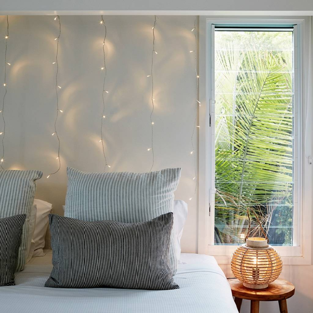 1m X 1m Indoor Curtain Fairy Lights By Lights4fun