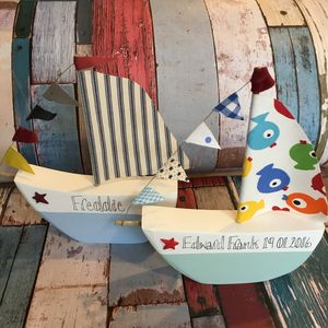 Boat, Freestanding Can Be Personalised - decorative accessories